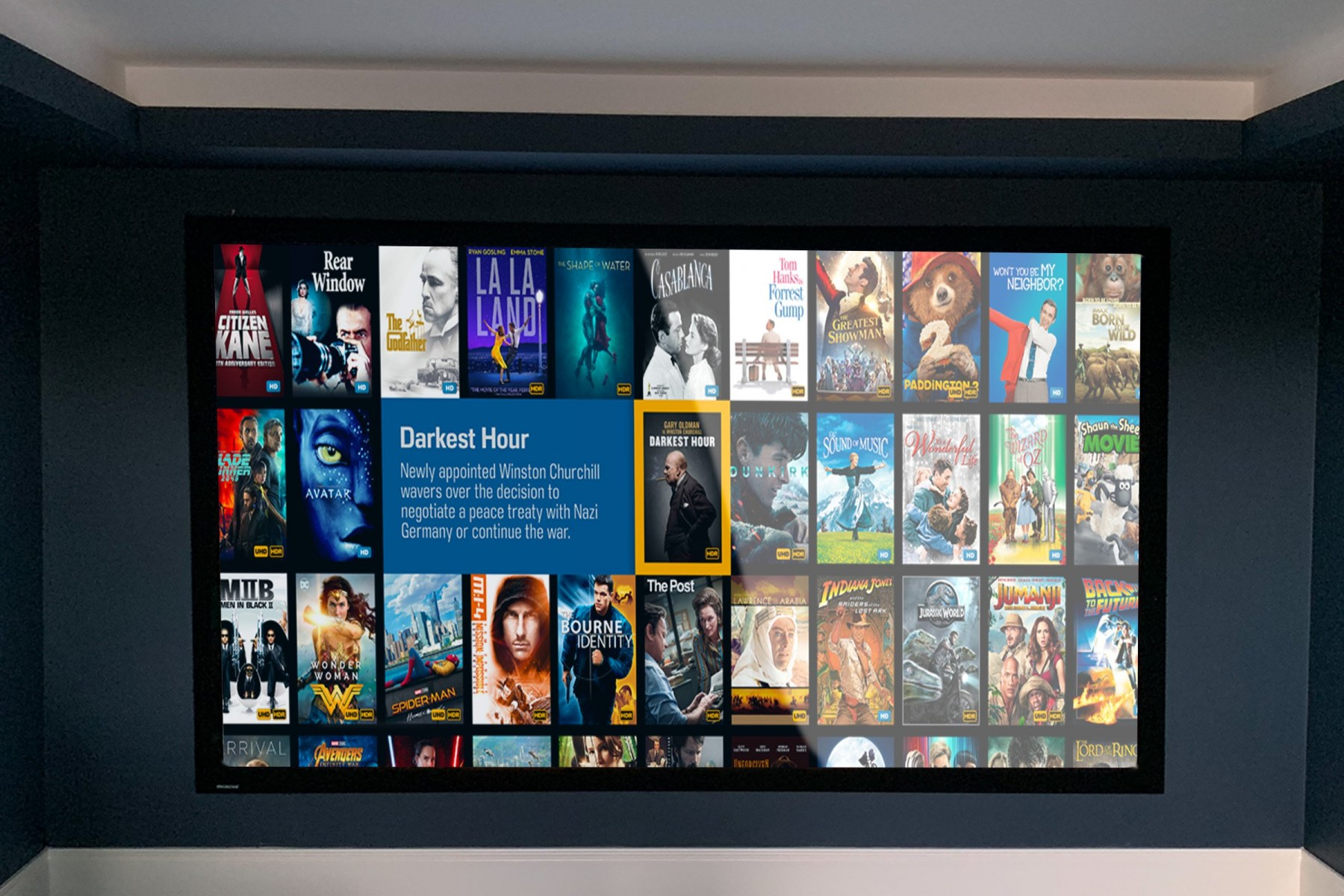 Kaleidescape movie server interface