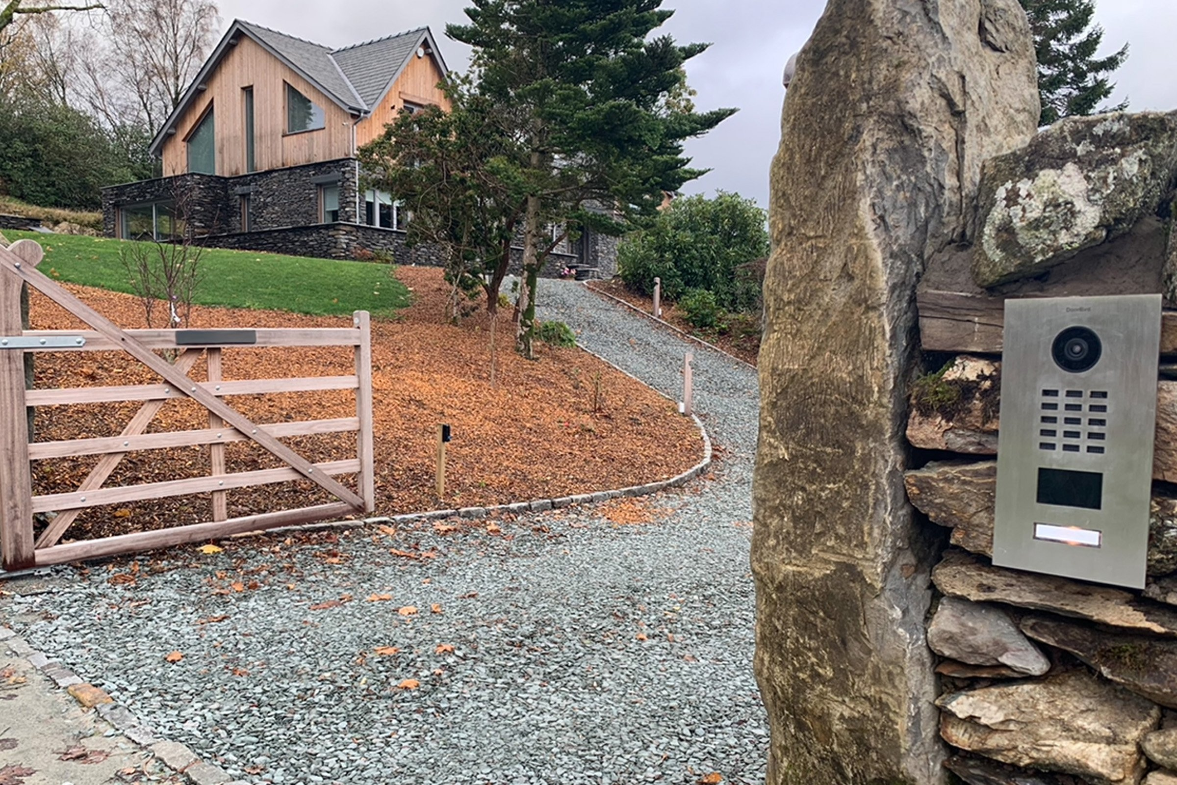 Lake District luxury home with Doorbird intercom