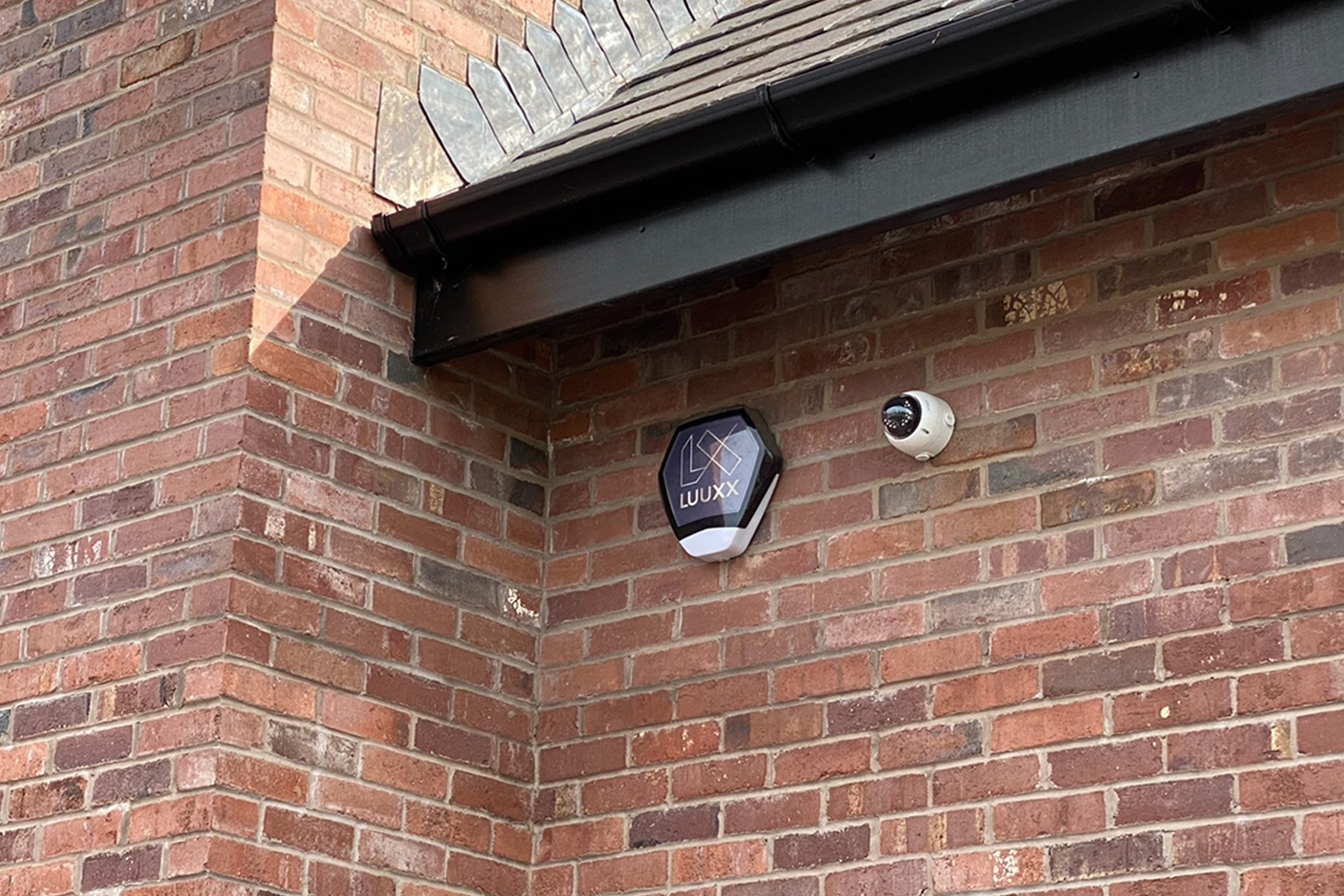 Texecom alarm system and Dahua CCTV