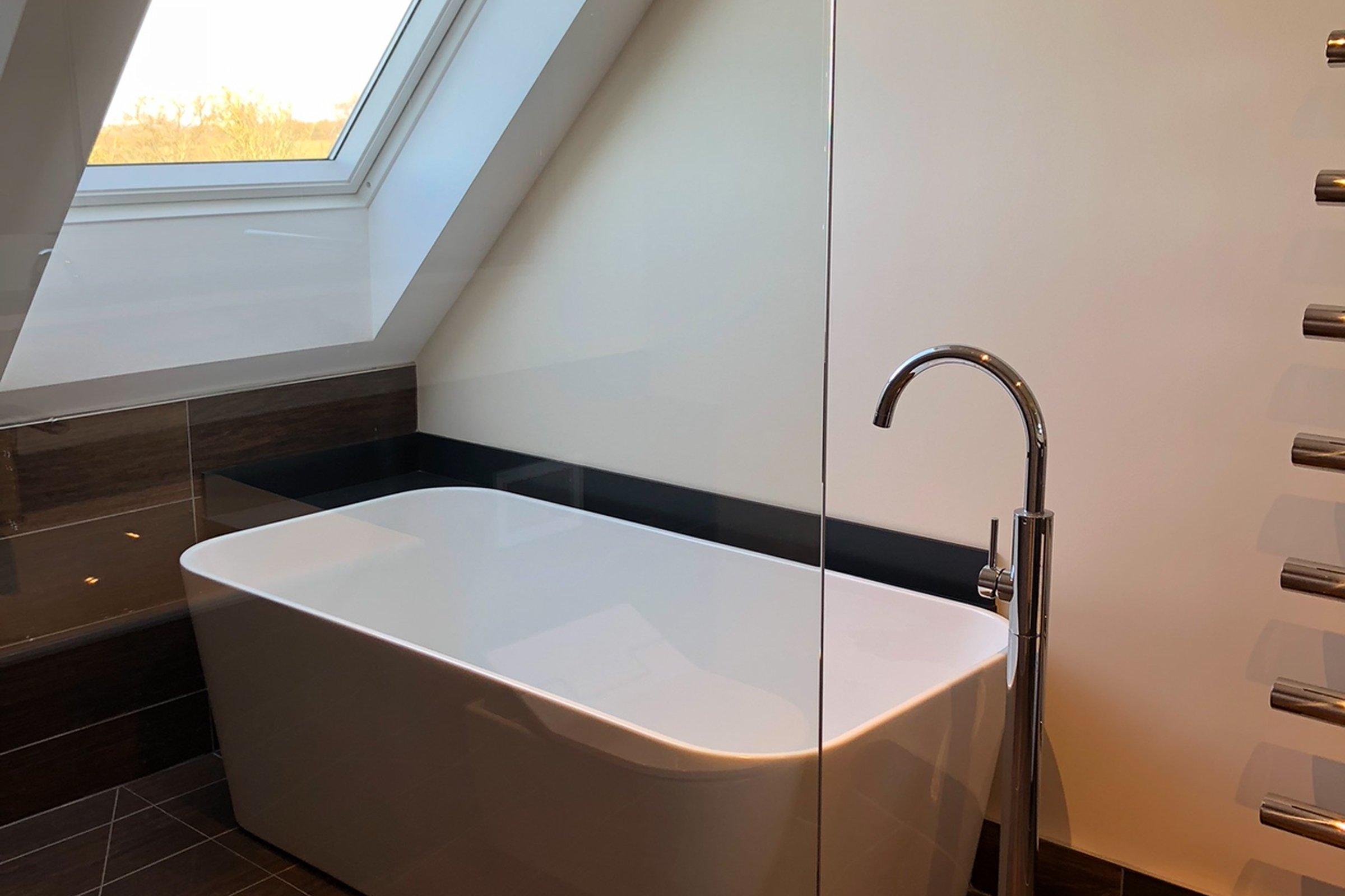 Bathroom with Savant audio
