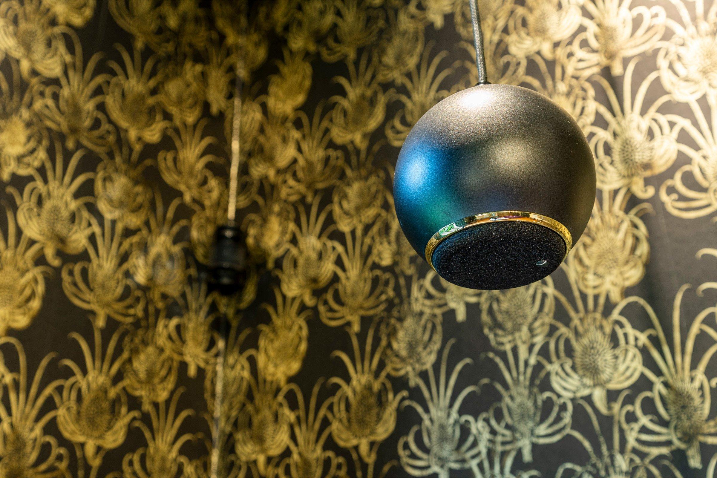Gallo Acoustics bespoke droplet speaker